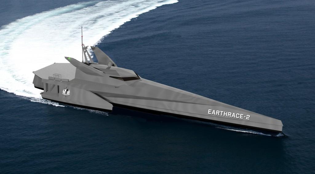 Earthrace-2 Rendering